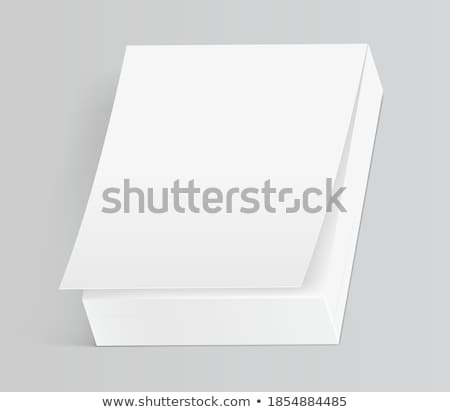 open organizer gray background Stock photo © romvo