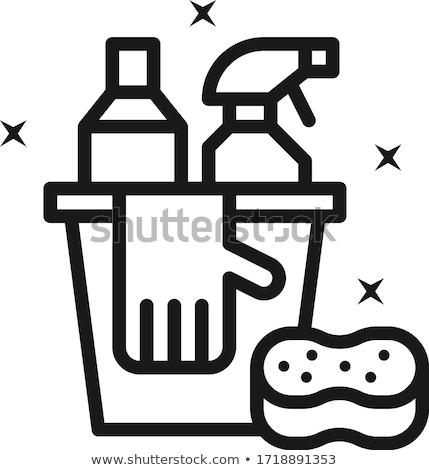 Mop and bucket Stock photo © SwillSkill