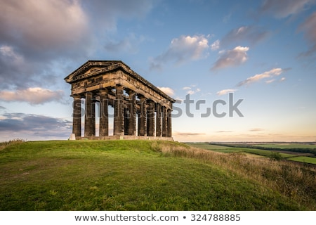 Temple of Hephaestus and Athens stock photo © russwitherington