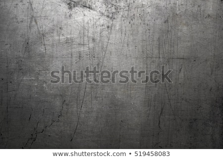 Scratched old metal stock photo © Kidza