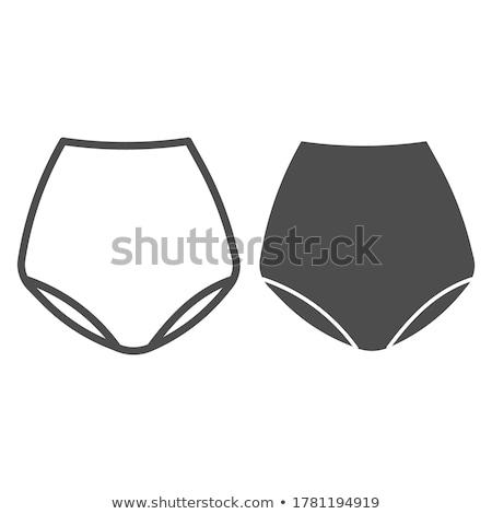 String pantie line icon. Stock photo © RAStudio