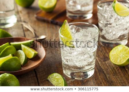 Stock fotó: Vodka · üdítő · citrus · közelkép · rövid · zsonglőr