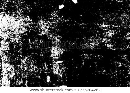 Feketefehér öreg javítás fal lövedékek durva Stock fotó © romvo