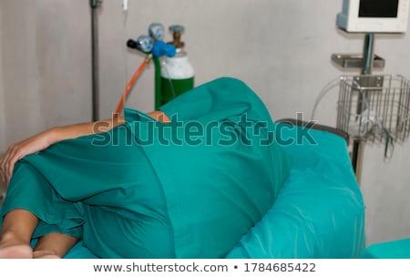 Patiënt operatie bed ziekenhuis vrouw man Stockfoto © wavebreak_media