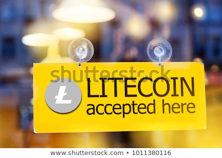 Litecoin cryptocurrency coinage Stock photo © stevanovicigor