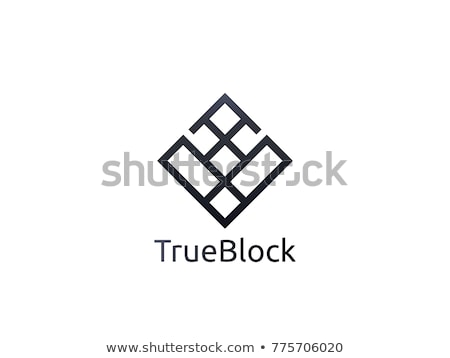 tile wall logo icon for carpet, floor, ceramic industry. hexagon box concept design template vector stock photo © taufik_al_amin