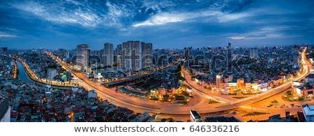 Vietnam, Hanoi city railway Stock photo © romitasromala