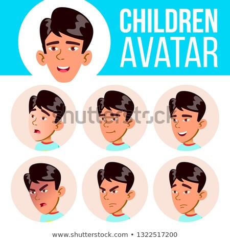 少年 · アバター · セット · 子供 · ベクトル · 小学校 - ストックフォト © pikepicture