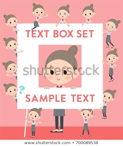 şef · reklam · sunumlar · broşür · bloglar - stok fotoğraf © toyotoyo