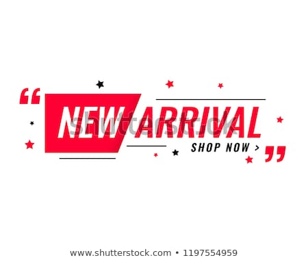 new arrival simple modern banner  Stock photo © SArts