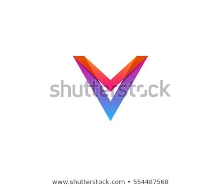 abstract · iconen · ontwerp · oranje · teken - stockfoto © krustovin