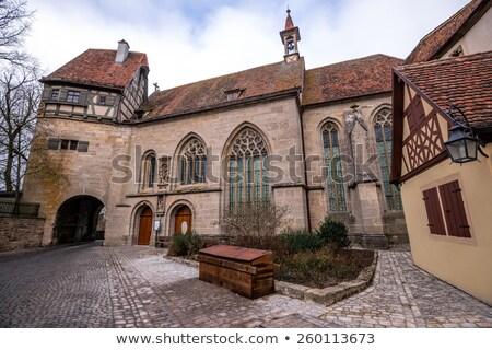 Germania gothic chiesa muro strada viaggio Foto d'archivio © LianeM