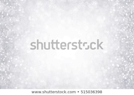 Büyü kar yağışı gri Noel kış dizayn Stok fotoğraf © romvo