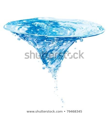 água spiralis vórtice abstrato vetor projeto Foto stock © blaskorizov
