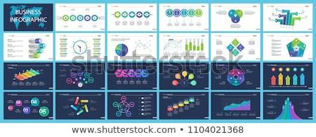 Planificación estrategia de negocios web página texto vector Foto stock © robuart