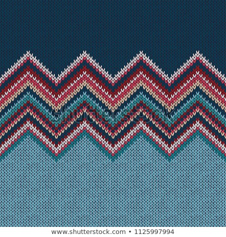 Knitted seamless pattern. Classic Knitwear. Fashion consept background Stock photo © ESSL