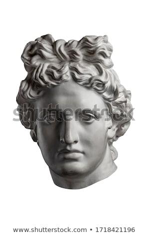 Szobor Athén Görögország akadémia Stock fotó © fazon1