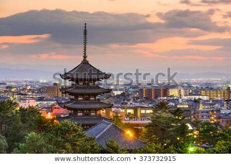 kofuku-ji buddhist temple, Nara, Japan Stock photo © daboost