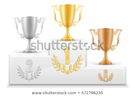 winner podium graphic design template vector illustration stock photo © haris99