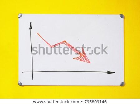 Post faillissement onderwijs witte muur dienst Stockfoto © tashatuvango
