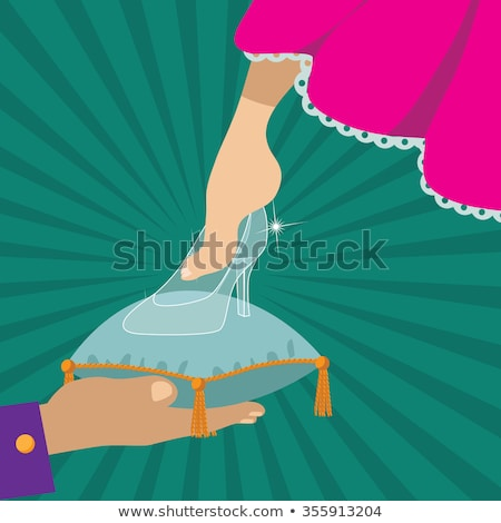 vecteur · chaussures · oreiller · femme · Shopping · beauté - photo stock © vetrakori