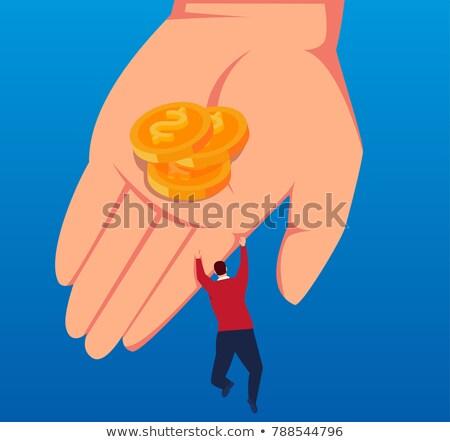 человека · заем · бизнеса · деньги · бизнесмен · банка - Сток-фото © elnur