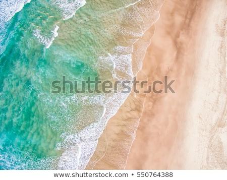 美しい オーストラリア人 ビーチ ターコイズ 深い ストックフォト © lovleah