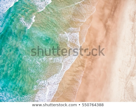 Hermosa australiano playa turquesa profundo Foto stock © lovleah