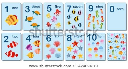 Children with numbers theme 1 Stock photo © clairev