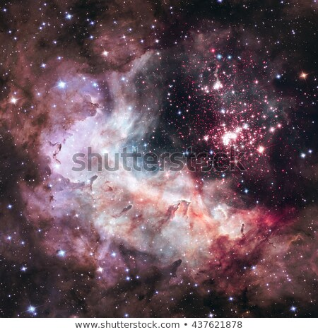 Super star cluster Westerlund 2 in the constellation Carina. Stock photo © NASA_images
