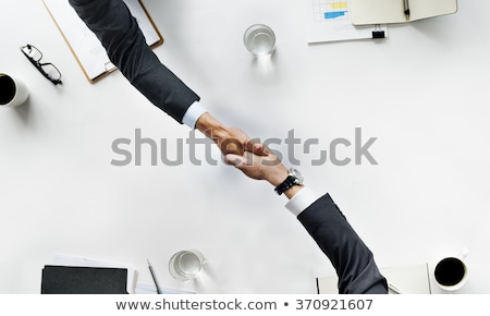 Teamwork People Dealing with Business Project Stock photo © robuart