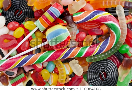 Close-up of assortment of chewing gums Stock photo © dariazu