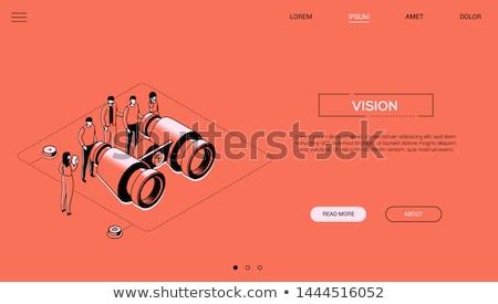 doradca · finansowy · nowoczesne · line · projektu · stylu · internetowych - zdjęcia stock © decorwithme