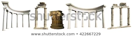 Ruins of Ancient Civilizations, Pillars Monument Stock photo © robuart