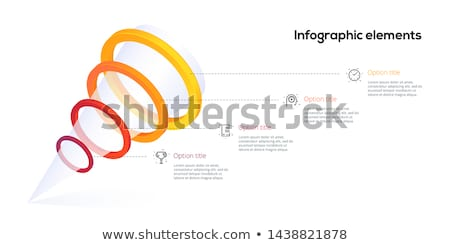 Data Funnel Circle Icon Stock photo © Anna_leni