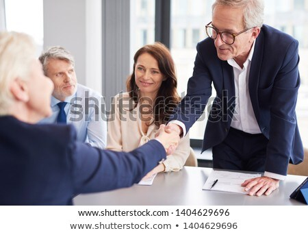 Agreement Between Business People at Conference Stock photo © robuart