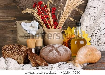 Still life of different types of salt  Stock photo © grafvision