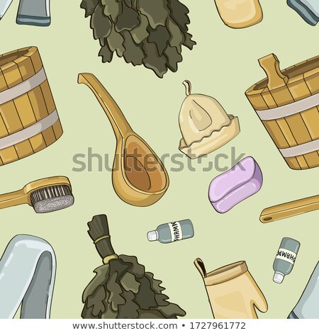 Bath house sauna hot water pattern Stock photo © netkov1