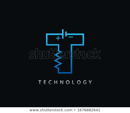 T Letter vector icon design Stock photo © Ggs