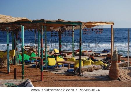 Beach in Dahab Egypt stock photo © photoblueice