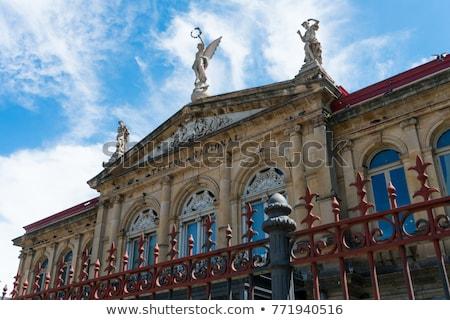tiyatro · Prag · Çek · Cumhuriyeti · Bina · şehir · tekne - stok fotoğraf © simplefoto