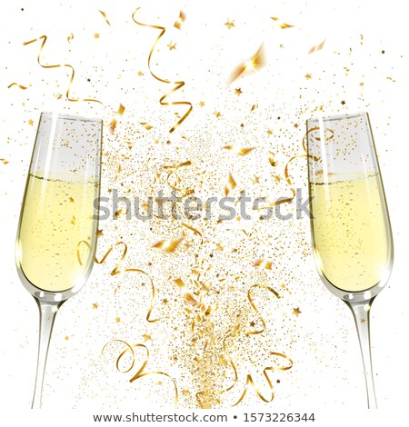 Two goblet of  champagne. Stock photo © lypnyk2