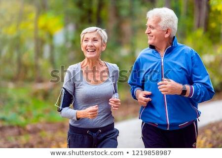 glücklich · Joggen · Mann · Paar · Gesundheit - stock foto © photography33