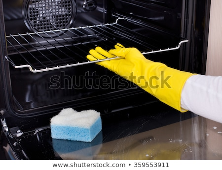 Close-up of a woman cleaning the oven  Stock photo © wavebreak_media