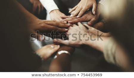 Joined hands Stock photo © joseph73