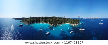 海景 ギリシャ語 空 水 海 夏 ストックフォト © Gbuglok