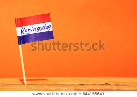 день Голландии молодым человеком человека спорт Сток-фото © ivonnewierink