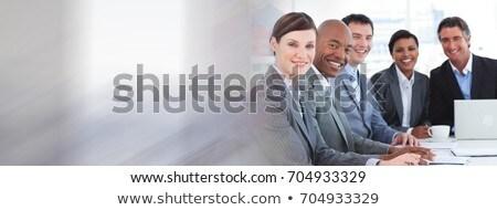Business people applauding together Stock photo © wavebreak_media