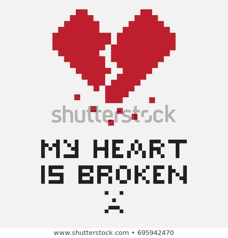 Mijn hart gebroken pijn kan medische Stockfoto © stockyimages