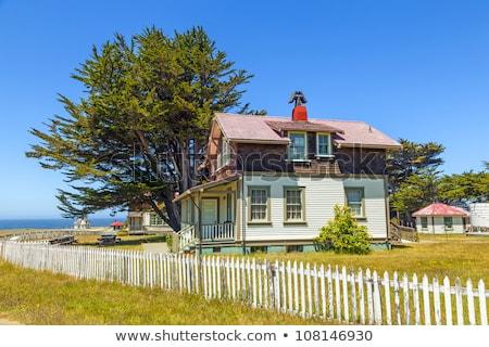 casa · punto · faro · histórico · casa · edificio - foto stock © meinzahn
